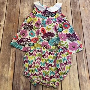 Vera Bradley floral outfit